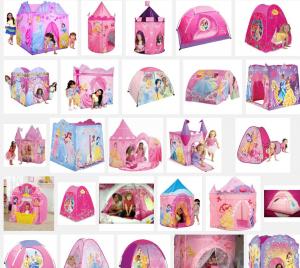 Disney princess tents