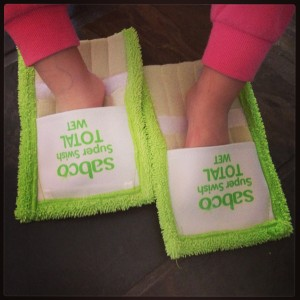 Mop shoes