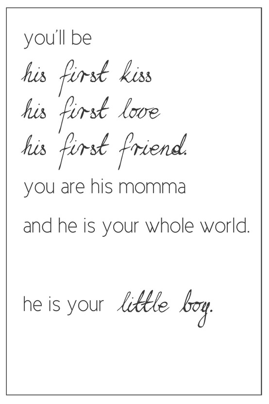 Mother son quote