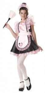 Kids' French maid costume