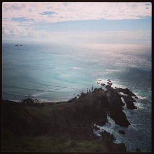 Cape Byron lighthouse view
