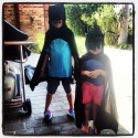 Batboy and batgirl