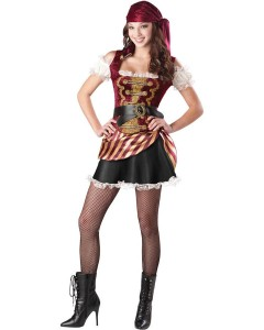 Teen's pirate costume