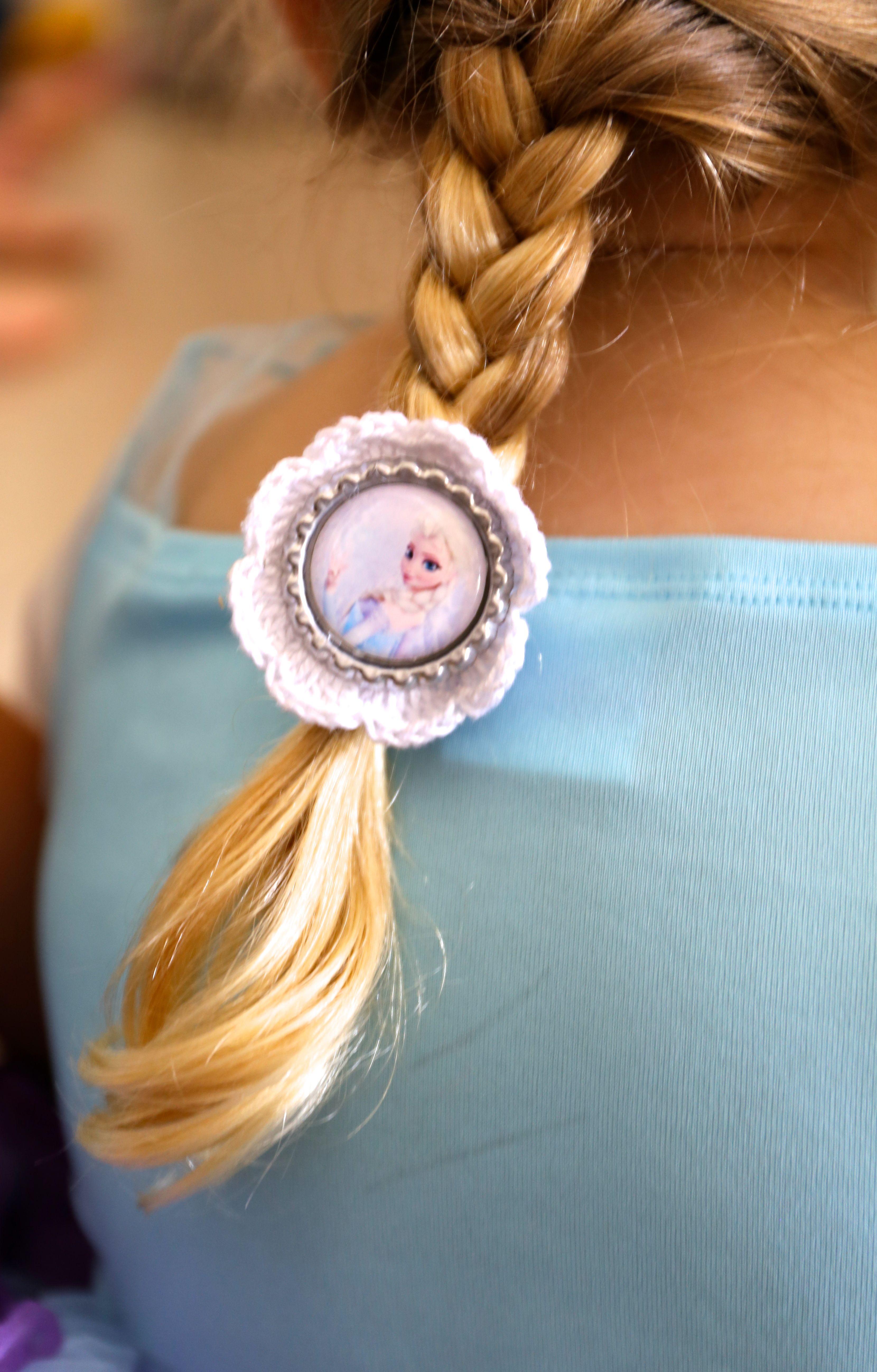 Elsa hair-tie