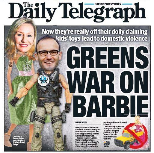 Greens War on Barbie