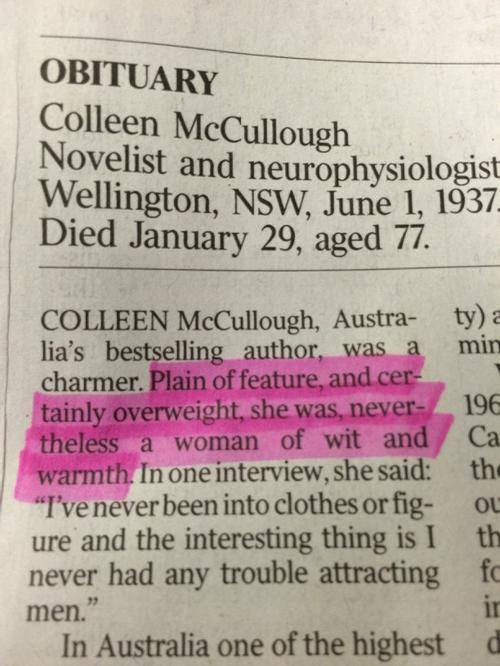 Obit clipping