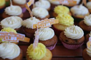 Anti-Princess Club cupcakes