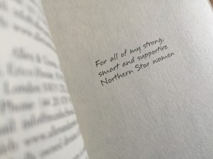 Book Five dedication
